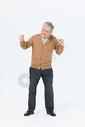 老年男性搞怪形象图片