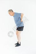 老年人运动受伤图片