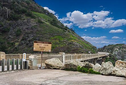 大瑟尔Rocky Creek Bridge图片