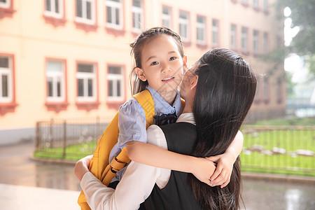 校园母女图片