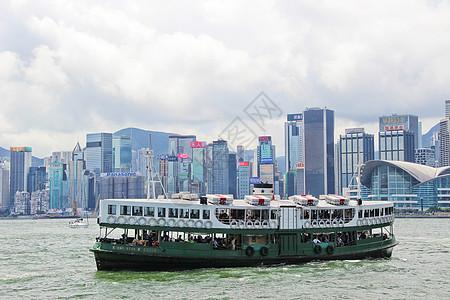 香港维多利亚港渡轮图片