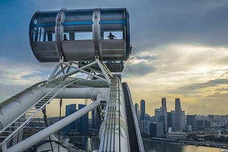 新加坡摩天观景轮图片