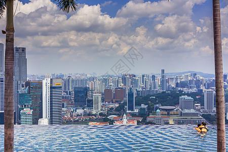 新加坡金沙无边泳池图片