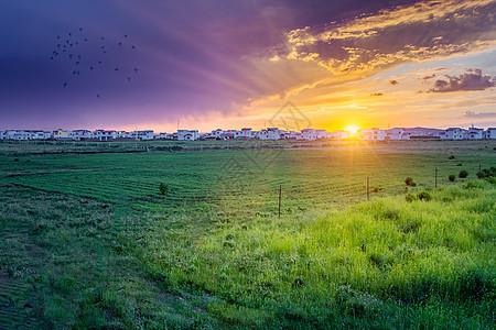 若尔盖草原小镇图片