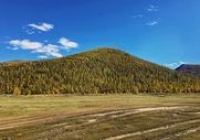内蒙古大草原秋天风光图片