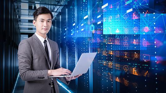 商务人士科技现代化图片