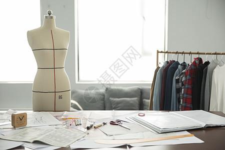 服装设计师工作环境图片