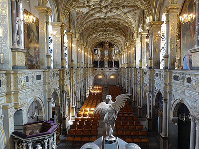 丹麦腓特烈堡内的教堂图片