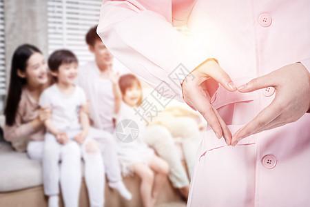 关爱家人健康图片
