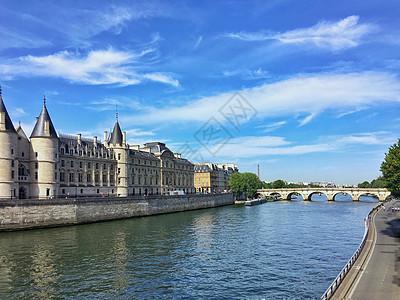 巴黎塞纳河风光图片