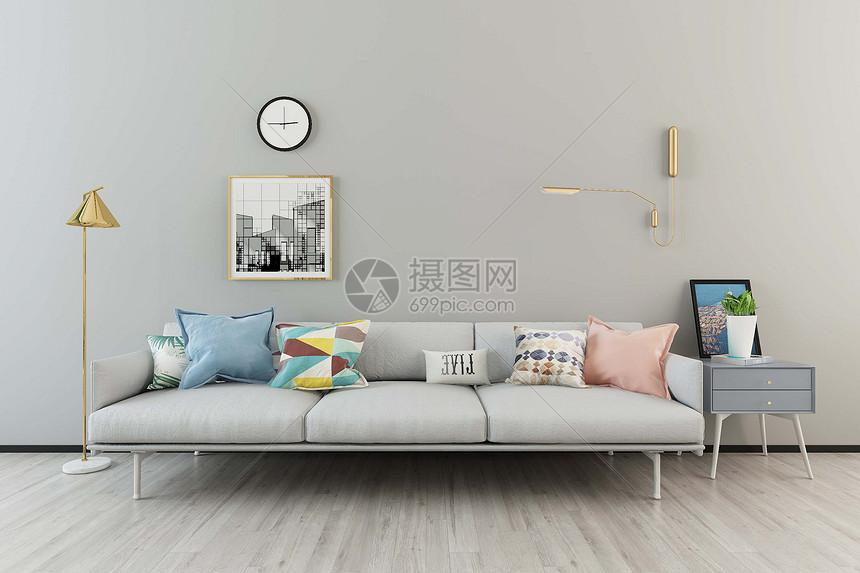 沙发橱柜组合图片