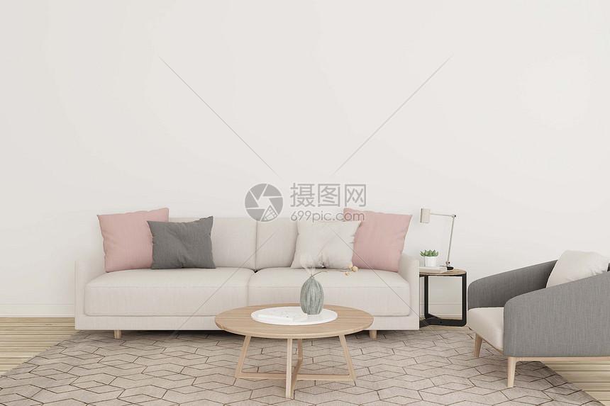 沙发茶几靠椅组合图片