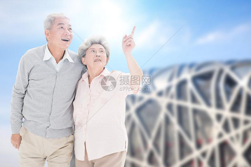 老年旅游图片