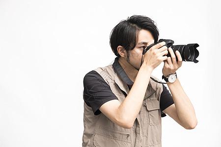男摄影师图片