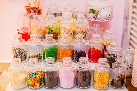 清迈火烈鸟网红冰淇淋店的糖果图片
