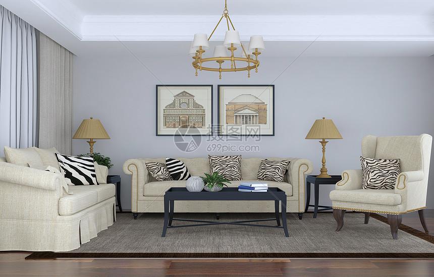 客厅沙发茶几组合图片