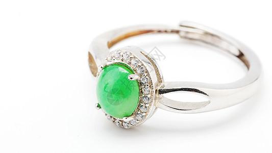 首饰玉石戒指图片