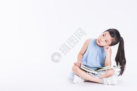 儿童阅读想象图片