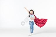 儿童飞翔图片