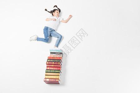 儿童与书本图片