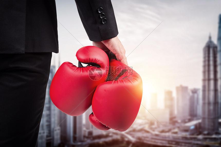商务拳击图片