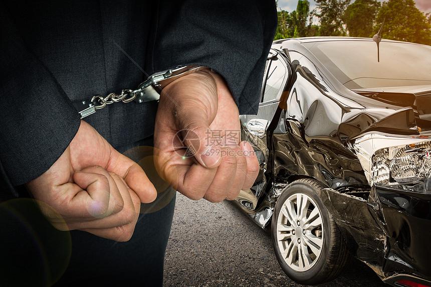 汽车肇事图片