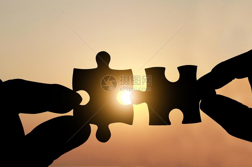 企业合作概念图片
