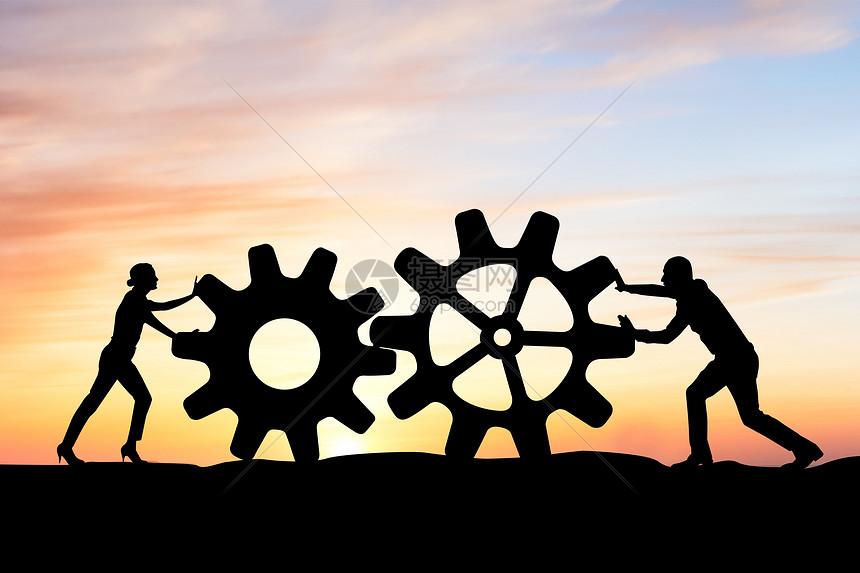 团队合作概念图片