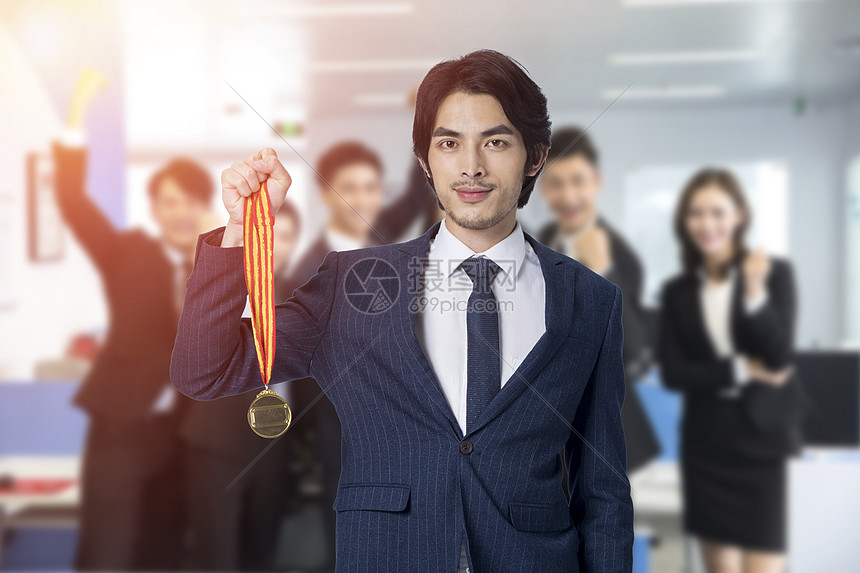 业绩冠军图片