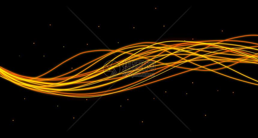 光轨背景图片