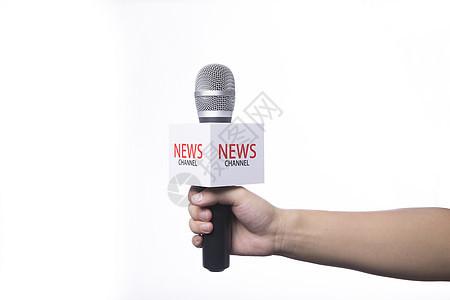 新闻采访图片