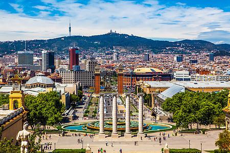 西班牙巴塞罗那城市景观图片