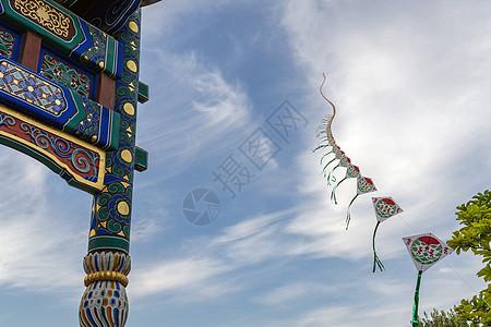 什刹海-前海南沿风筝图片