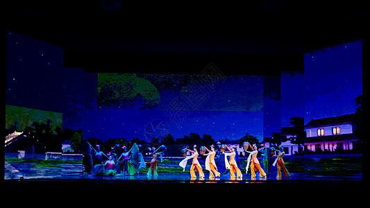 同里标志性演出大型室内情景秀《水墨同里》图片