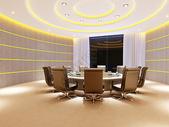后现代会议室效果图图片