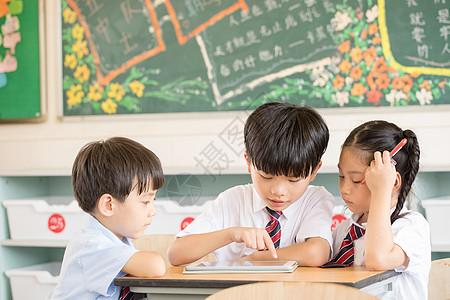 儿童课堂网上教育图片