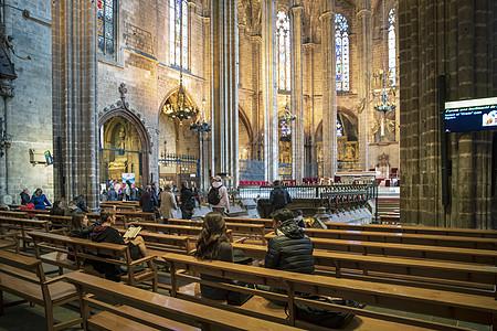 巴塞罗那大教堂图片