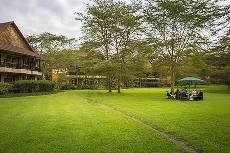 肯尼亚国家公园酒店风光图片