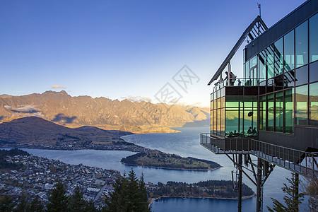 新西兰皇后镇天空缆车餐厅图片