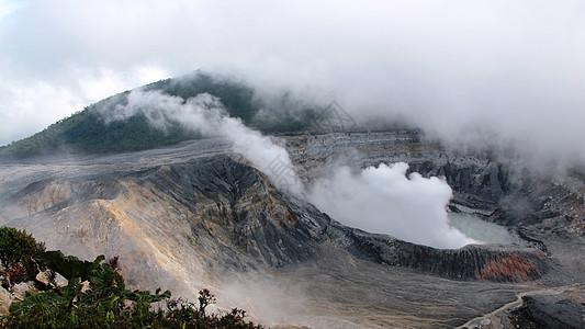 哥斯达黎加波阿斯火山口图片