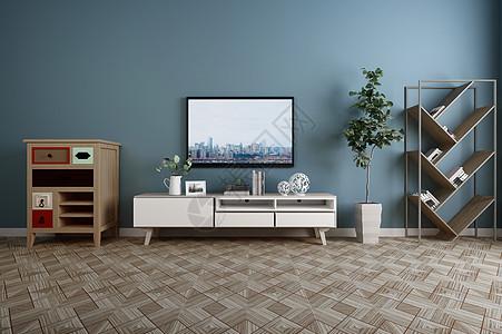 现代电视柜组合效果图图片
