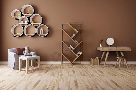 现代家具组合效果图图片