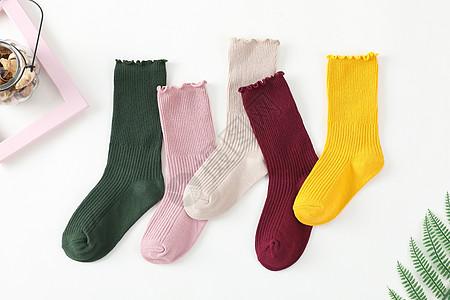 袜子男袜女袜中筒袜儿童袜子图片