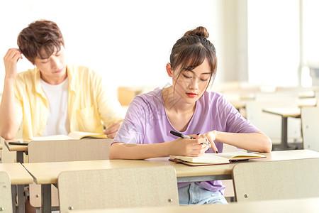 课堂记笔记图片