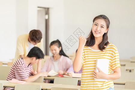 学生上课图片