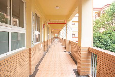 学校楼道图片