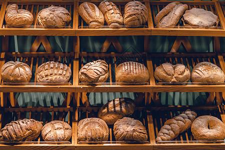 面包组合图片