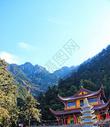 安徽池州九华山图片