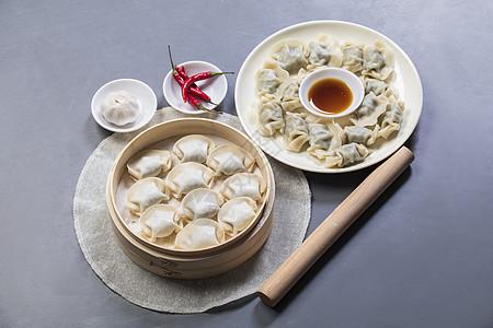 中式点心水饺图片