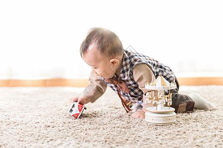 婴儿宝宝玩耍图片